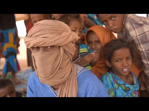 Mauretanien: Not im Flüchtlingslager nach Flucht aus Mali