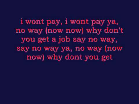 The Offspring - Why Don't you get a job with lyrics