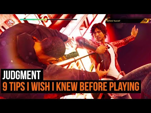 Judgment - 9 tips I wish I knew before playing