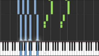 Learn how to play this song on piano! Cool demonstration with sheet music in the video player! MIDI: http://freemididownload.com/midifiles/ • Try this simple...