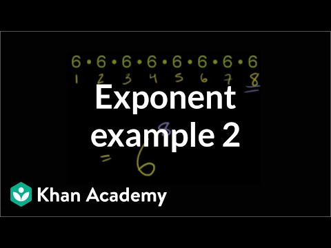 Algebra: Exponents and radicals