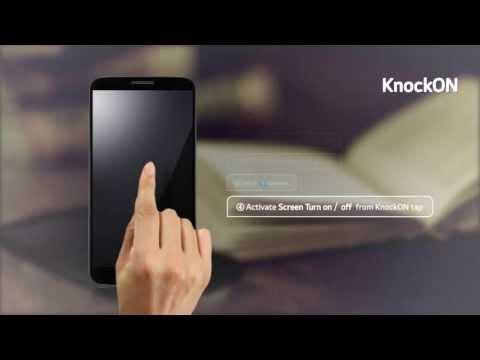 "LG G2 - prezentacja funkcji ""KnockON"""