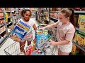 TIANA'S  WEEKLY GROCERY SHOPPING CHALLENGE!!