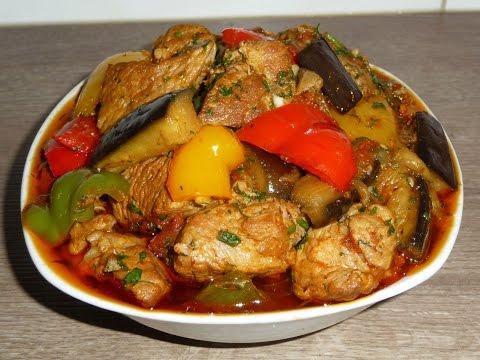 Что приготовить вкусного из свинины и овощей