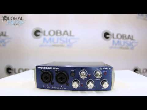 Presonus Audiobox USB 2x2 Видео обзор внешней звуковой карты
