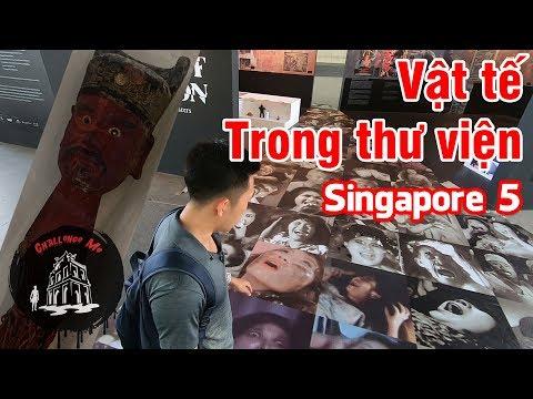Vật Tế Trong Thư Viện [Singapore 5] - Thời lượng: 10 phút.