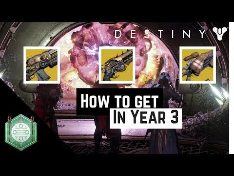 Destiny | Lost Exotics - Queenbreaker's Bow, Dreg's Promise, and Lord of Wolves in year 3