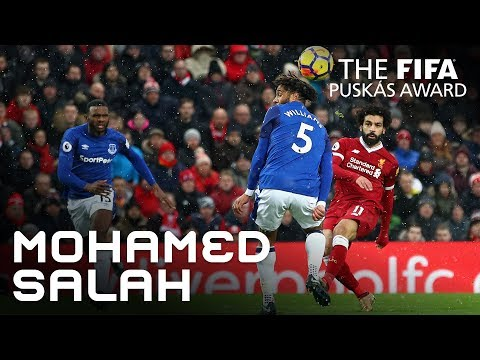 #puskasaward MOHAMED SALAH GOAL – WINNER