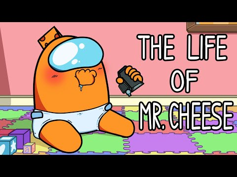"""The Life of Mr. Cheese"" Among Us Song (Animated Music Video)"