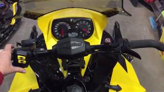 5. 2014 Ski-Doo Ace 600 Running