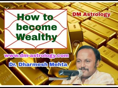 Secret To Become Wealthy Through Vedic Ast By Dr Dharmesh Mehta