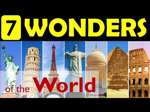 7 wonders of the World   Update your General Knowledge