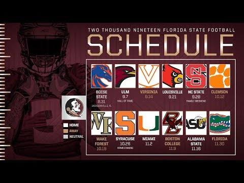 Nole Insiders: 2019 Schedule Release Reactions