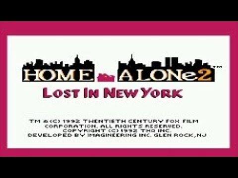 Полное прохождение (((Dendy))) Home Alone 2: Lost in New York / Один дома 2: Потерянный в Нью-Йорке