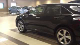 2012 Toyota Venza V6 AWD XLE Black Walk Around Test Drive
