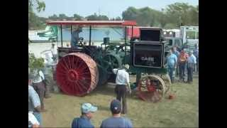 2. HUGE 30-60 CASE Prairie Tractor start & run at George Schaff Auction