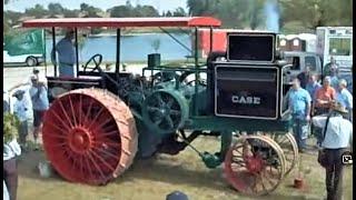 5. HUGE 30-60 CASE Prairie Tractor start & run at George Schaff Auction