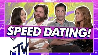 Nonton Keeping Up With The Joneses Cast Go Speed Dating    Mtv Movies Film Subtitle Indonesia Streaming Movie Download