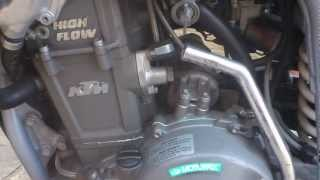 9. KTM 640 LC4 bad engine noise