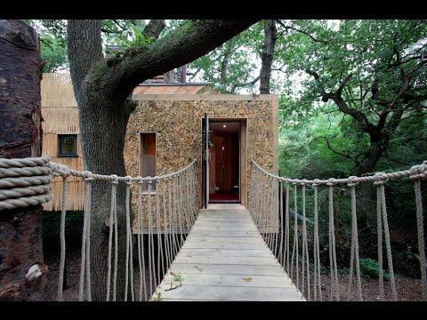 200 tuhannen arvoinen puumaja on jotain mistä unelmoida!