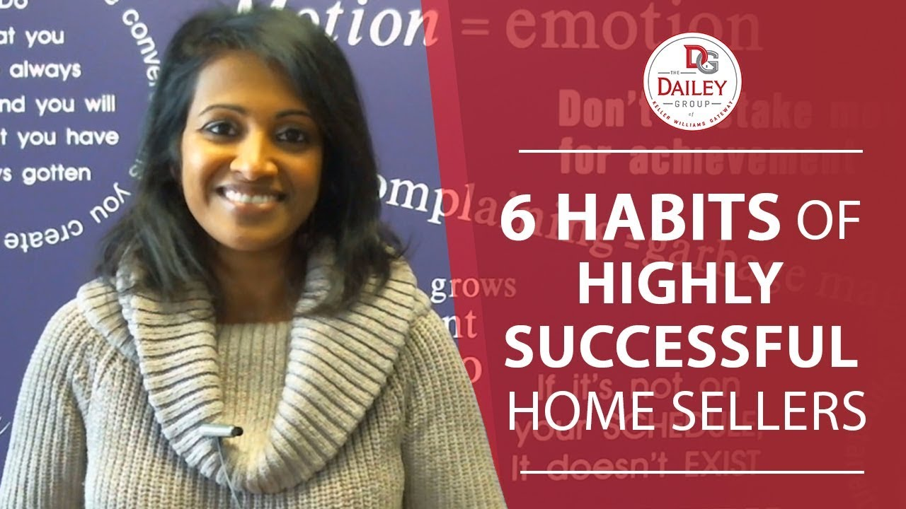 6 Habits That All Successful Home Sellers Have in Common