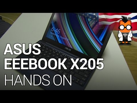 ASUS EeeBook X205 Hands On -  $199 Netbook unveiled at IFA 2014
