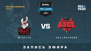 Misfits vs HR - ESL Pro League S6 Finals - map1 - de_cobblestone [CrystalMay, SleepSomeWhile]
