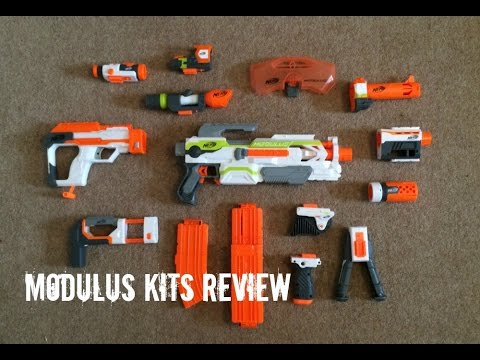 Nerf N-Strike Modulus Kits Unboxing & Review