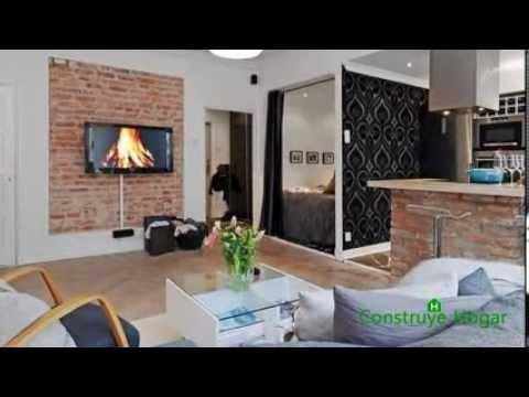 Modelos interiores apartamentos videos videos for Planos departamentos pequenos modernos