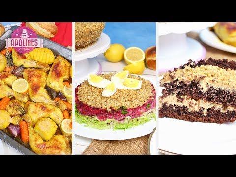 50 წუთში - სადილი, სალათი, ნამცხვარი (ვიდეო)