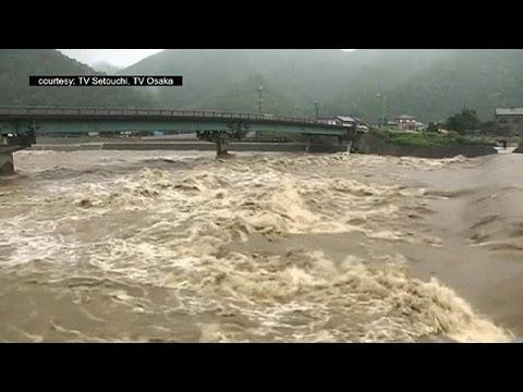 Ιαπωνία: Σαρώνει ο τυφώνας Νάνγκα