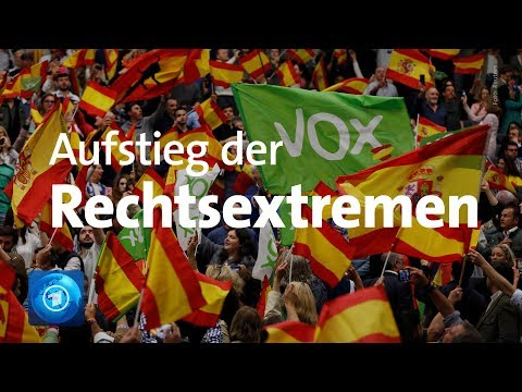 Wahlkampf in Spanien: Rechtsextreme Vox-Partei findet viel Zuspruch
