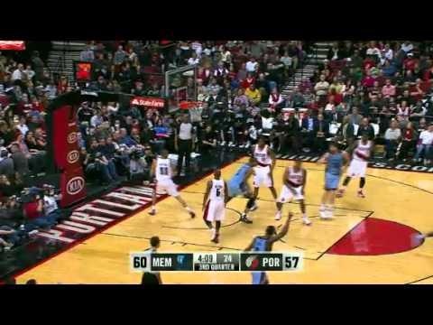 Memphis Grizzlies 93 – Portland Trail Blazers 97