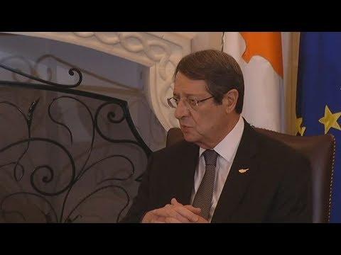 Ο διάλογος Ν.Αναστασιάδη με Α.Τσίπρα στο Προεδρικό