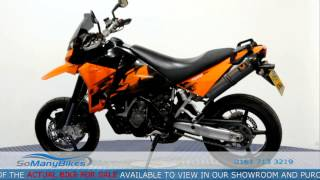 8. 2007 KTM SuperMoto 950 Overview | Motorcycles for Sale from SoManyBikes.com