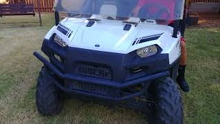 6. 2012 Polaris Ranger 800 Crew/ Limited Edition 780cc/Review