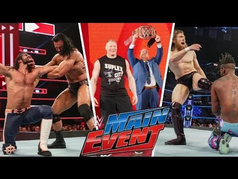 WWE Main Event 22nd March full Highlights HD - WWE Main Event Highlights Wrestling Reality