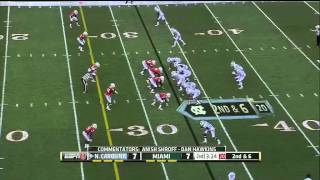 Bryn Renner vs Miami (2012)