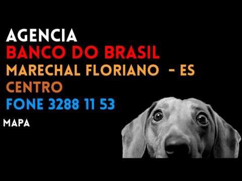 ✔ Agência BANCO DO BRASIL em MARECHAL FLORIANO/ES CENTRO - Contato e endereço