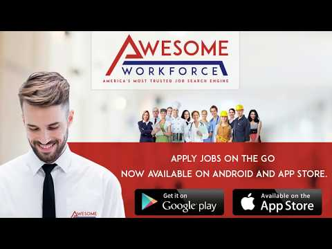 Awesome Workforce- America's Most Trusted Job Search Engine.