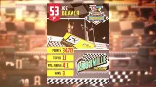 360 Knoxville Raceway Track Champ Joe Beaver