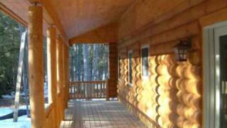Kalkaska (MI) United States  city images : Beaver Log Homes - Kalkaska, MI