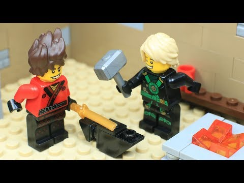 Brick Channel Lego Ninjago: How To Make A Ninja's Sword