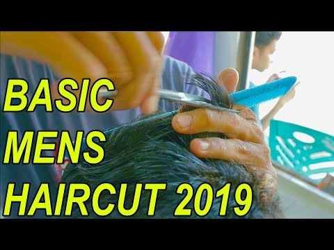 THE BEST BASIC MENS HAIRCUT TUTORIAL 2019 - step by step