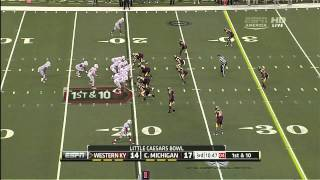 Jack Doyle vs Central Michigan (2012 Bowl)