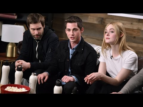 Logan Lerman and Elle Fanning on Young Love in 'Sidney Hall'
