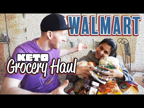 Keto Walmart Grocery Haul | $200 Monster Low Carb Haul | Meal Prep Shopping