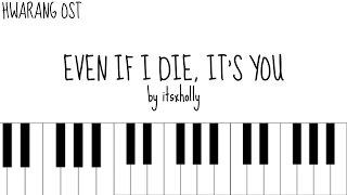 Video EVEN IF I DIE, IT'S YOU - V X JIN - Piano Tutorial MP3, 3GP, MP4, WEBM, AVI, FLV Juli 2018