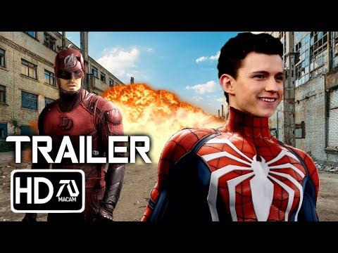 SPIDER-MAN 3: NO WAY HOME Trailer (2021) Tom Holland, Charlie Cox (Fan Made)
