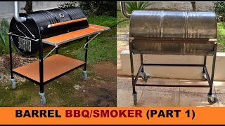 Video HOW TO BUILD A BARREL BBQ/SMOKER (PART 1) MP3, 3GP, MP4, WEBM, AVI, FLV Januari 2019